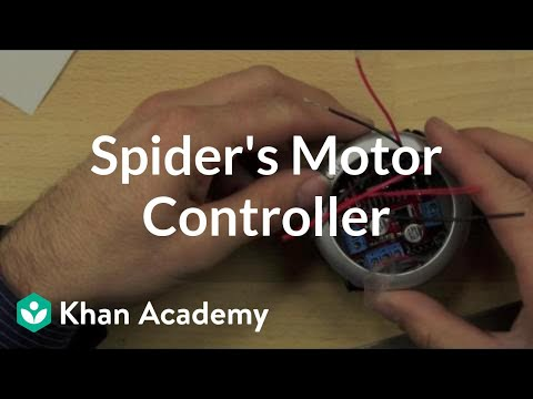 Spider's motor controller | Home-made robots | Electrical engineering | Khan Academy