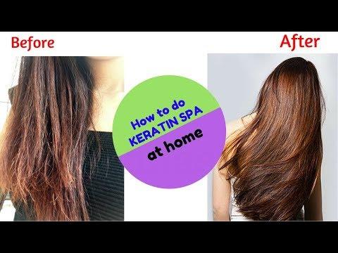 घरपे-keratin-spa-कैसे-करे-|-how-to-do-keratin-spa-at-home-|-get-shiny-silky-smooth-and-soft-hair