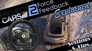 Project Cars 2 - Force Feedback explained - Configuration & Tips