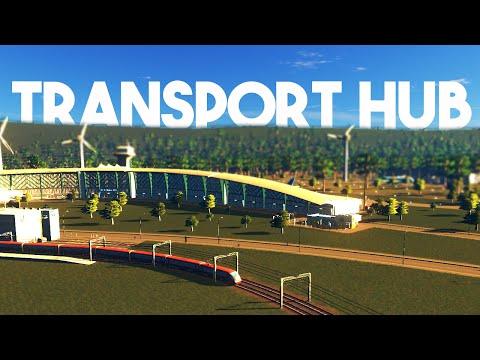 Cities Skylines :: Transportation Hub