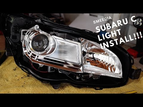 How to Install C Lights on a Subaru