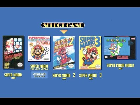Super Mario All-Stars All Games + Super Mario World Speedrun