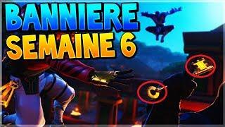 TROUVER LA BANNIÈRE CACHÉE DE LA SEMAINE 6 SAISON 8 SUR FORTNITE BATTLE ROYALE !