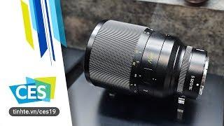 #CES19: Trên tay ống kính Nikkor Z 58mm f/0.95 S Noct (chưa được cầm)