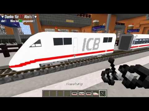 TRAINCRAFT 🚂 | MJTW Server | TrainCraft Server Projekt 2018 | Unterwegs auf dem Server