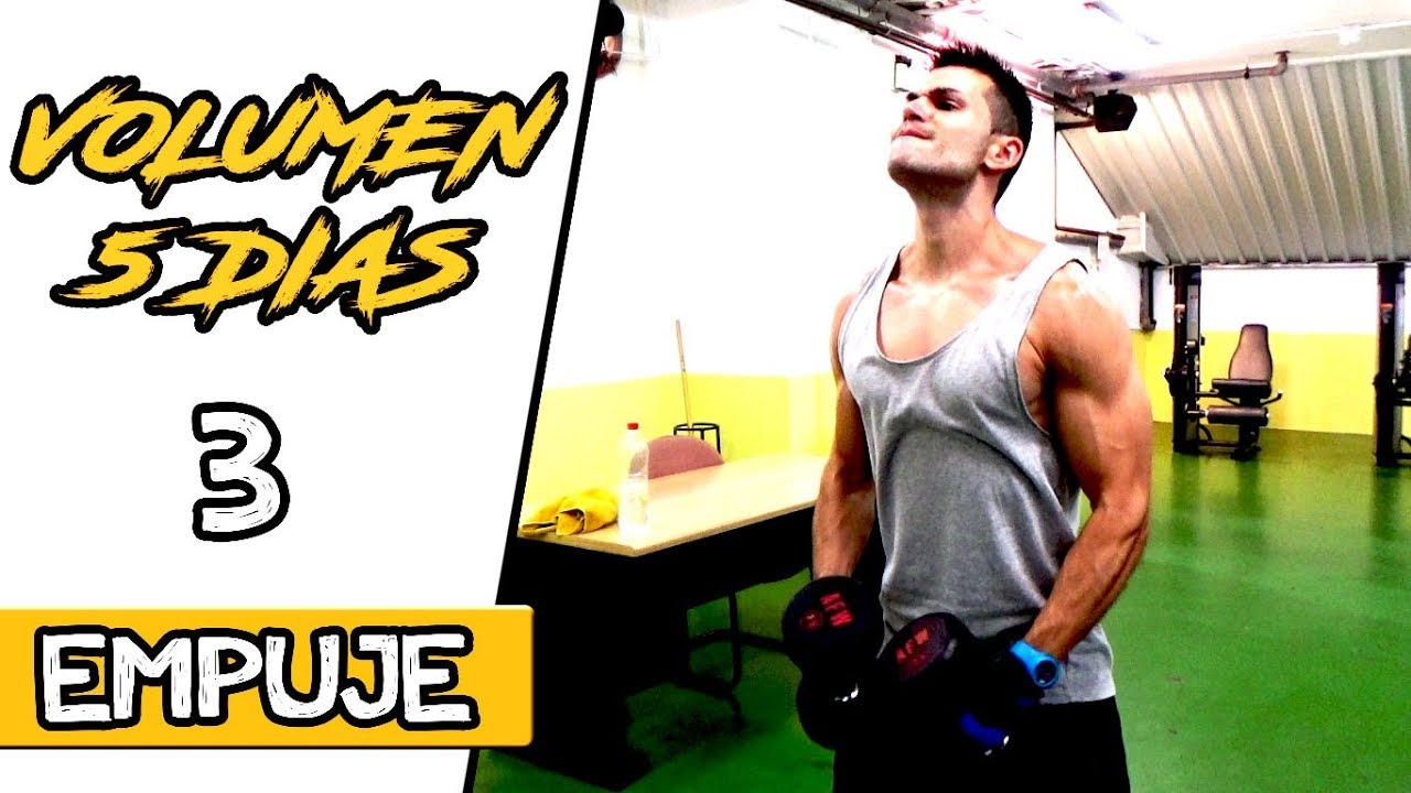 rutina de bíceps para aumentar masa muscular