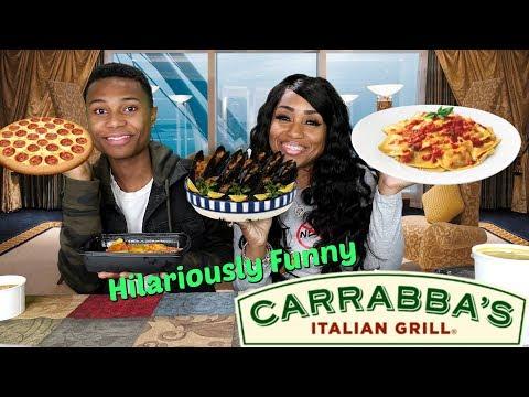 Carrabbas Italian Grill With It's Darius