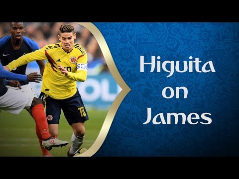Higuita talks James