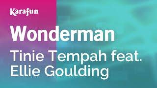 Karaoke Wonderman - Tinie Tempah *