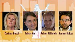Recht und Gerechtigkeit – Menschen machen Mut. Live mit Fuellmich, Busch, Gall und Kaiser