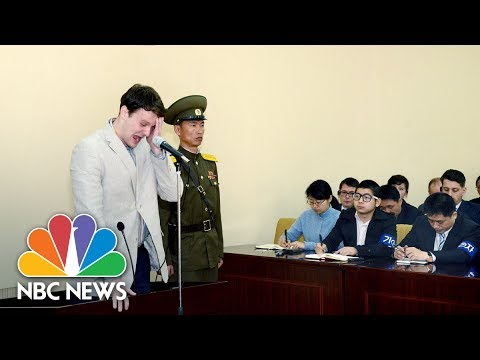 Timeline Of Otto Warmbier's North Korean Captivity | NBC News