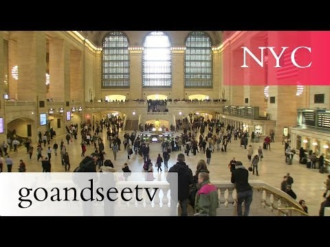 Grand Central Terminal/Station Tour - New York City Travel Guide