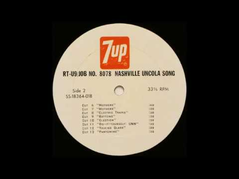 7up Promo  Nashville Uncola Song  Pantomime 1970s Promo Jingle