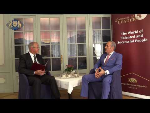 An interview with Mr Chnaris Zacharias on Switzerland's television.
