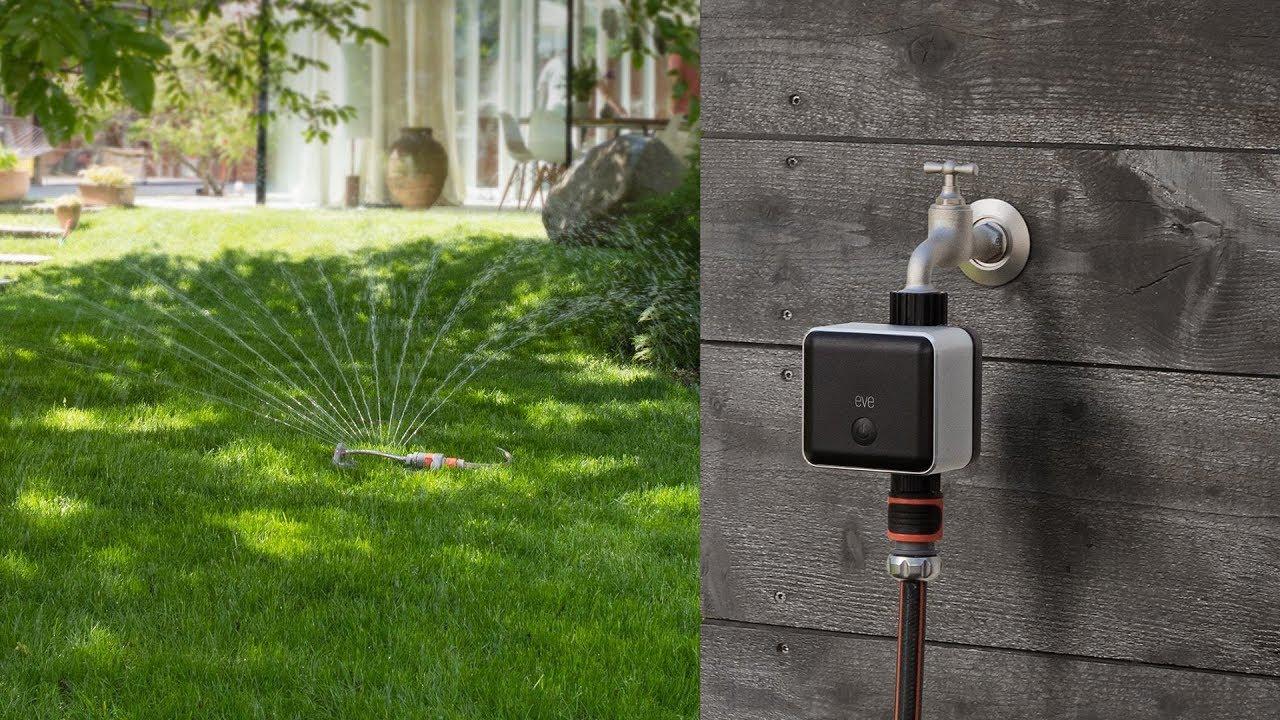 eve aqua - smarte bewässerungssteuerung - youtube