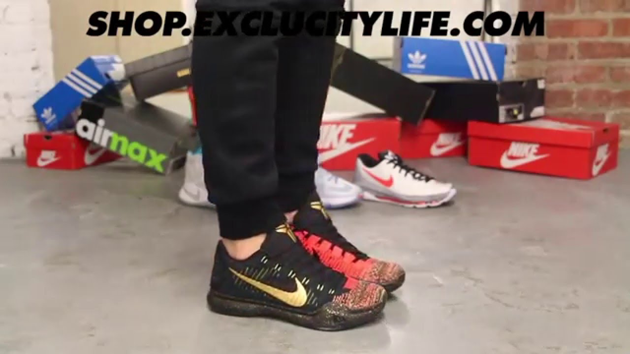 "a0312f30d1f5 ... 10 Elite Low ""Christmas"" Authentic Kobe X Elite Low ..."