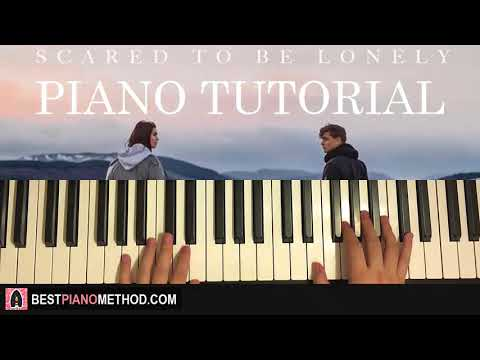 HOW TO PLAY - Martin Garrix & Dua Lipa - Scared To Be Lonely (Piano Tutorial Lesson)