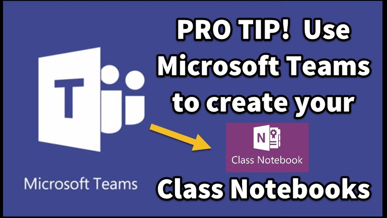 Microsoft Teams -  OneNote Class Notebooks made the smart way! (Staff Notebooks too)