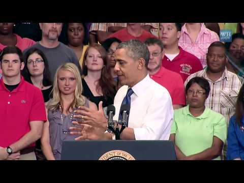 President Obama Speaks on Jumpstarting Job Growth