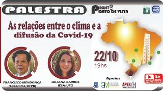As relações entre o clima e a difusão da Covid-19