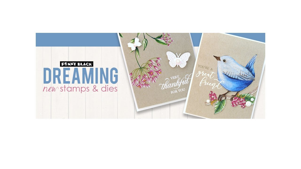 A Closer Look at New Stamps and Dies: DREAMING 2019