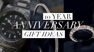 4 Stunning Gift Ideas for your 10th Wedding Anniversary