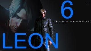 Resident Evil 6 walkthrough - part 6 HD Leon walkthrough gameplay RE6 Full Game walkthrough Campaign