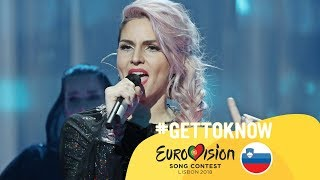 ESC 2018: Get to Know.... LEA SIRK from SLOVENIA | Eurovision Song Contest 2018 🇸🇮