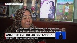 Bikin Terharu & Bangga Ibunda, Kisah Supriadi, Anak Tukang Rujak Bintang Timnas U-16
