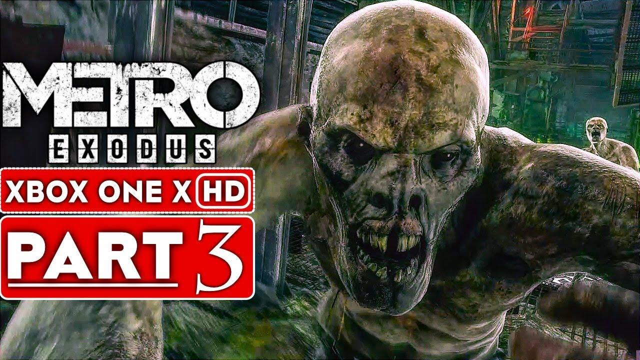 METRO EXODUS Gameplay Walkthrough Part 3 [1080p HD Xbox One X] - Kein Kommentar + video