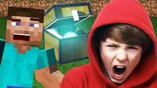 Minecraft Chest Trolling/Griefing (INSANE Reactions)