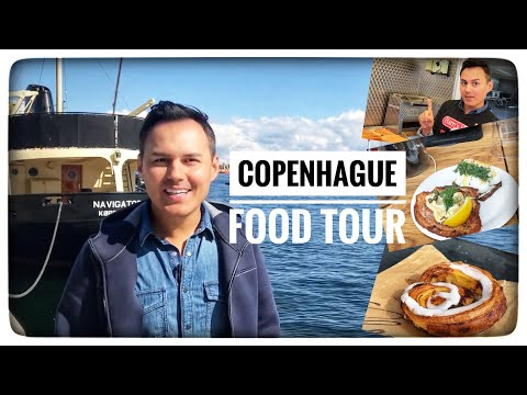 Food Tour COPENHAGUE : street Food, tartines, viennoiseries, hot dogs, réglisse... 🇩🇰