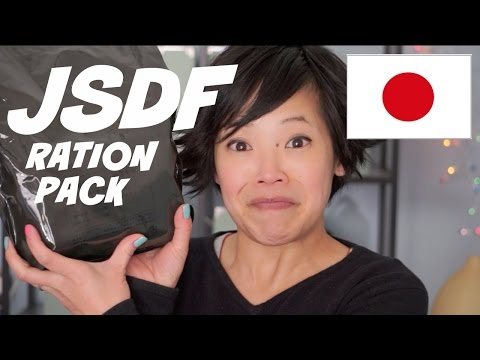 Japanese Self-Defense Forces Ration Pack (JSDF) - Japanese M