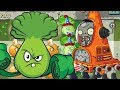 ✔️Bonk Choy VS Robo Cone Zombie | Plants Vs Zombies 2 | Hoa Quả Nổi Giận 2