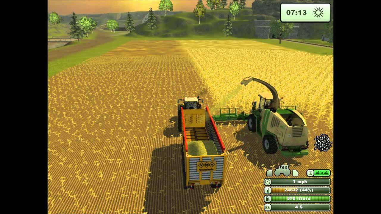Maishakselen Farming Simulator 2013 1 Youtube