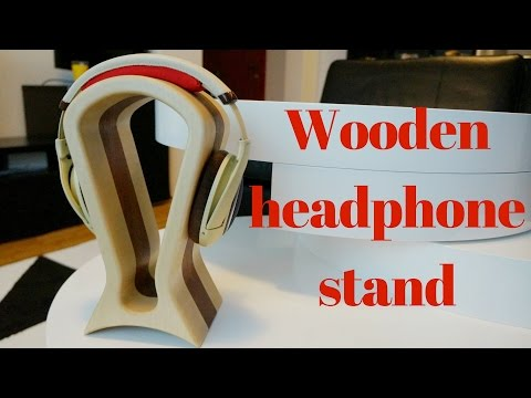"Making ""Fisk"" headphone stand"
