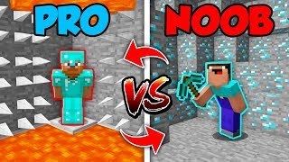 Minecraft NOOB vs. PRO : SWAPPED HIDDEN TRAPS 2 in Minecraft (Compilation)