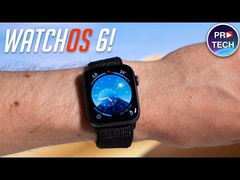 Полный обзор WatchOS 6! 30 нововведений для твоих Apple Watch!