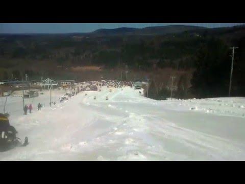 Poley Mountain Snowmobile Hill Climb 2013 Sussex NB