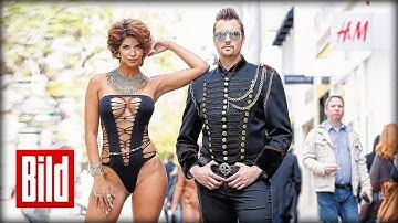 Micaela Schäfer und Robert Hazzan nackt in Düsseldorf