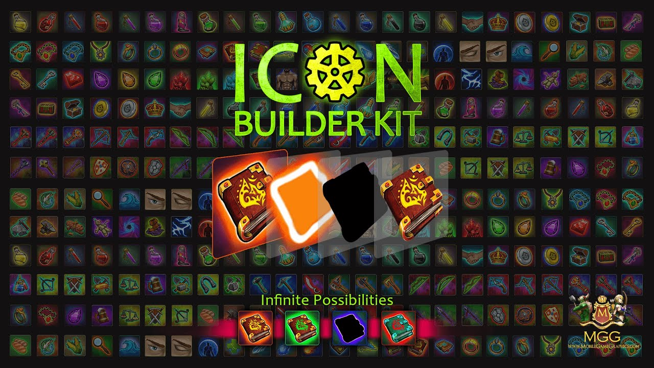 Icon Maker Kit - Create Your Own Game Icons