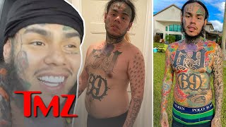 Tekashi 6ix9ine Reveals How He Gained and Lost So Much Weight | TMZ