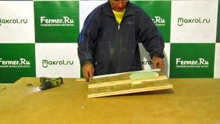 Makrol: видео-урок по сборке заглушки для установки маточника на клетку для кроликов