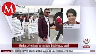 Marchan en Veracruz por caso de hija de diputada asesinada