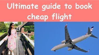 How to book cheap flight tickets | In Hindi