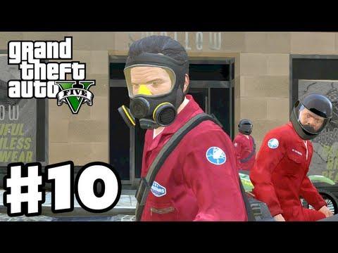 Grand Theft Auto 5 - Gameplay Walkthrough Part 10 - Jewel Store Heist (GTA 5, Xbox 360, PS3)