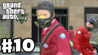 Grand Theft Auto 5 - Gameplay Walkthrough Part 10 - Jewel Store Heist (GTA 5, Xbox 360, PS3)