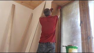 ПРОБКОВЫЕ  откосы  Как декорировать откосы окна!?