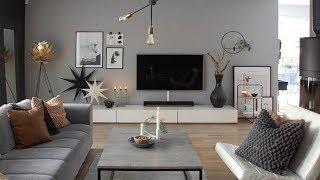 Interior Design / Tv Stand 2019 / Home Decorating Ideas / Modern Tv Wall