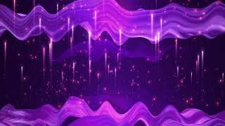 PURPLE WATER RELAXATION ~ Classic Wallpaper Background    HD Longest 1-Hour Epic Animation Footage